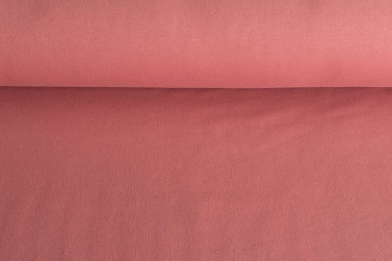 Brushed tricot Cerise