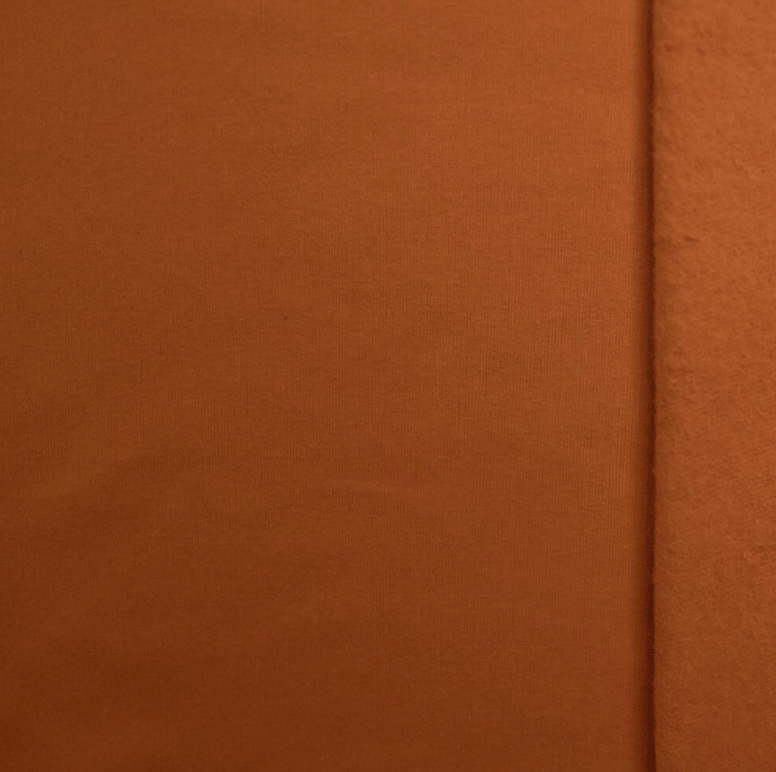 Brushed tricot Camel