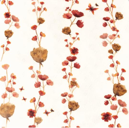 Snoozy Tricot Aqua bloemetjes