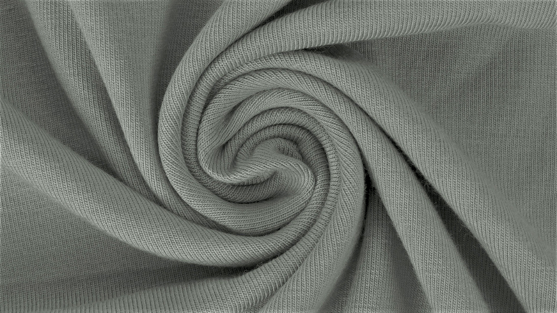 Katoen tricot Grijs