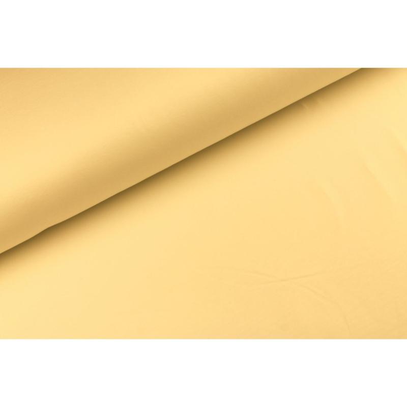Katoen tricot Zacht geel