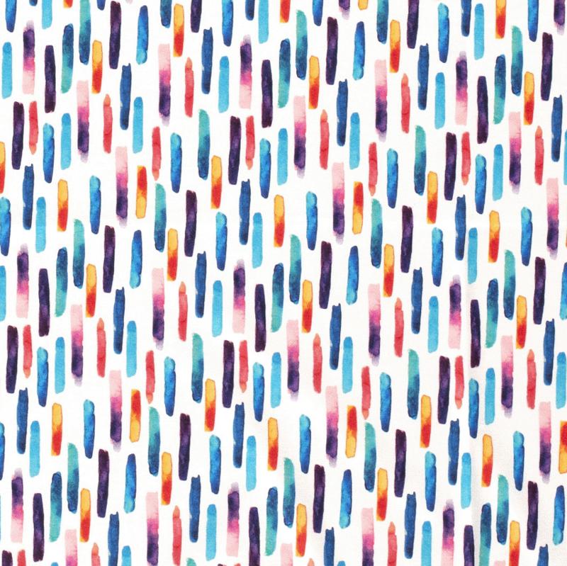 Tricot Digitaal Kleurrijke staafjes