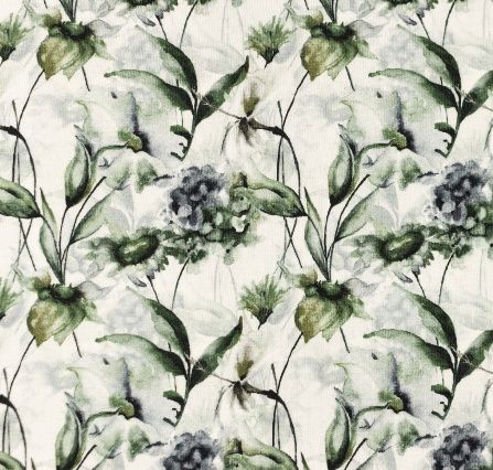 Tricot Canopus Flower Print