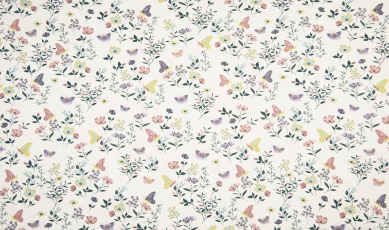Qjutie tricot Flowers dusty