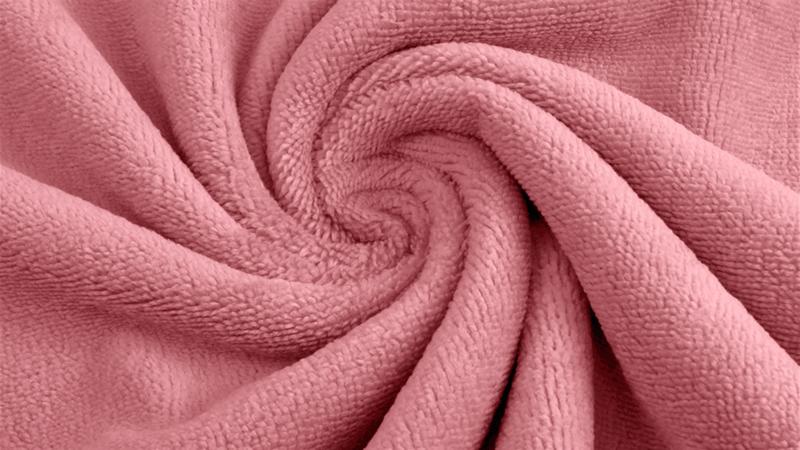 Bamboe badstof Pink