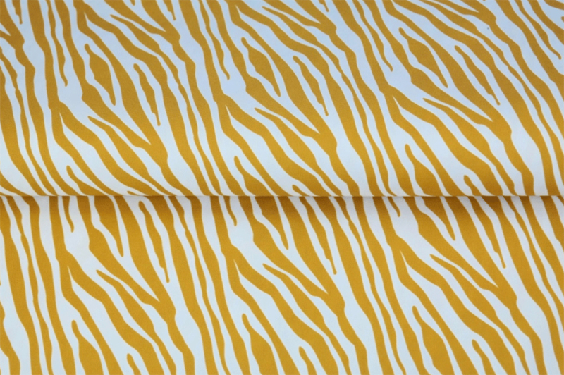 Stenzo poplin Zebra print