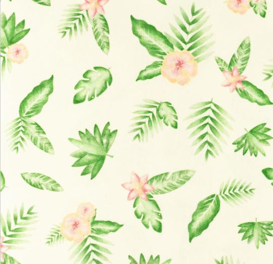 Tricot Tropische bloem