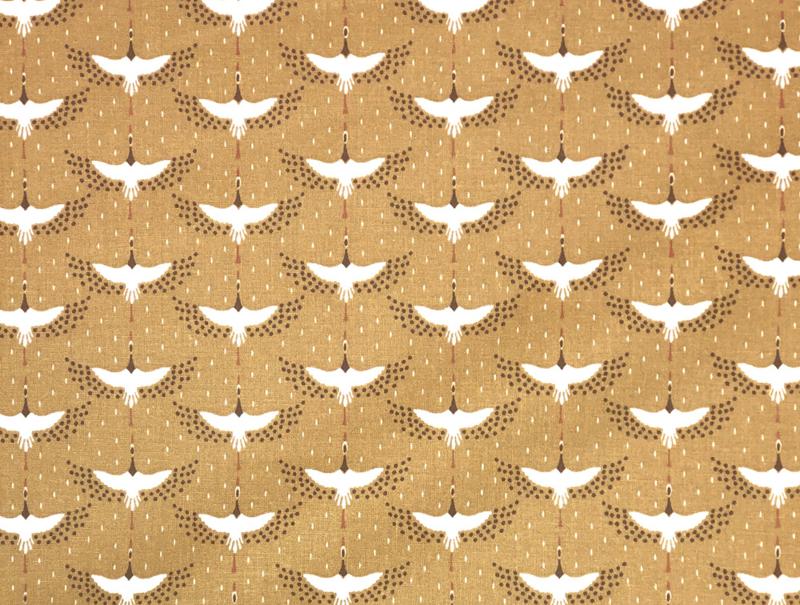 Katoen Reigertjes in de lucht