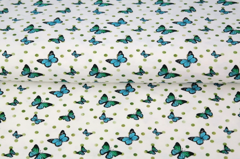 Stenzo tricot vlinder en stip