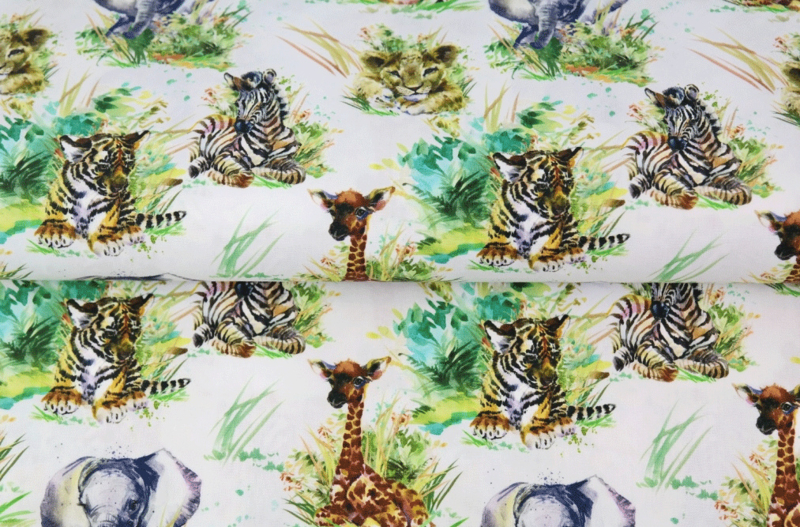 Stenzo tricot little jungle animals