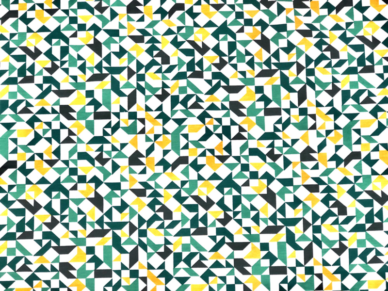 COUPON Tricot Graphics in color green
