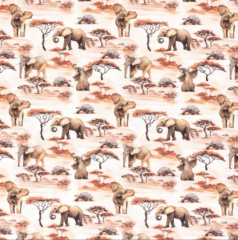 Tricot Schildpad & olifant