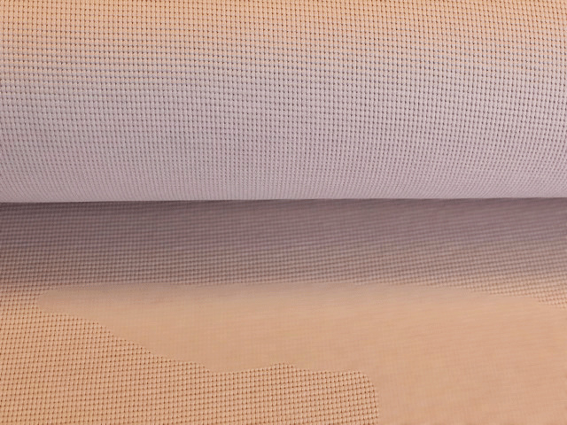 Baby waffle uni Licht oudroze