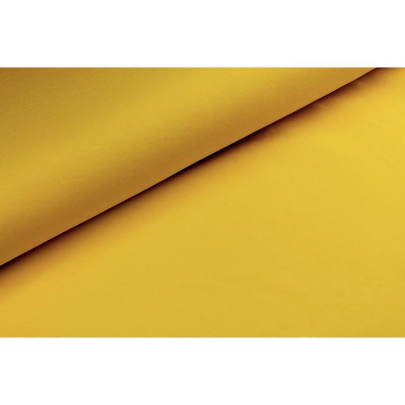 Katoen tricot Geel