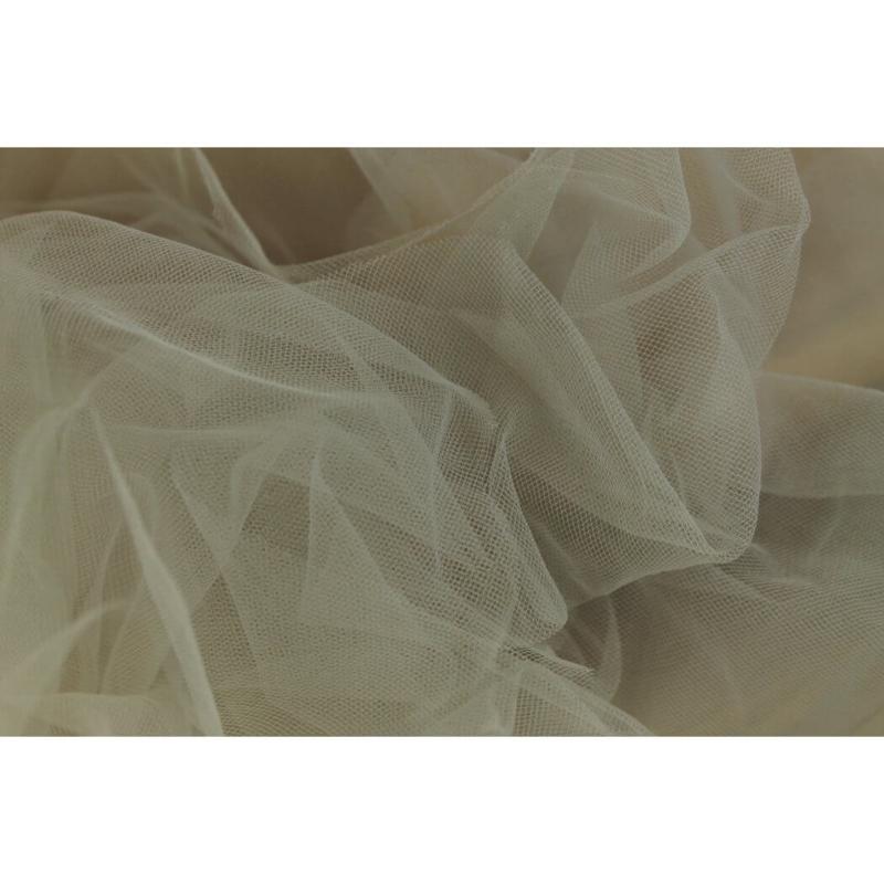Bruids tule Donker grijs