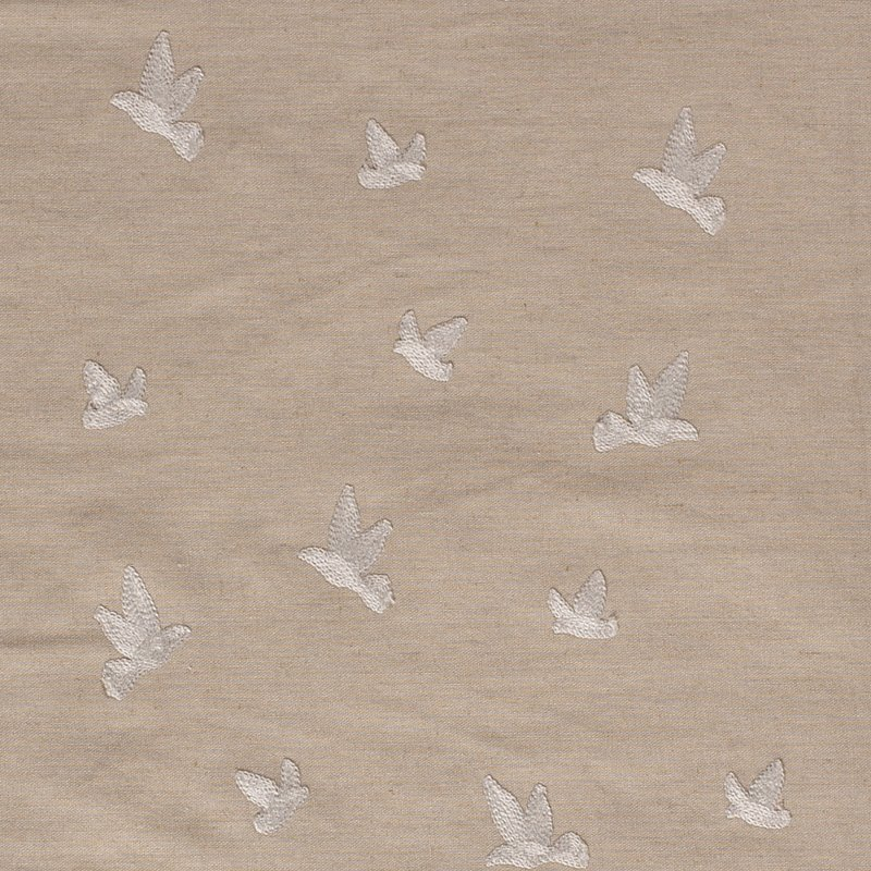Semi Linnen embroidery Birds