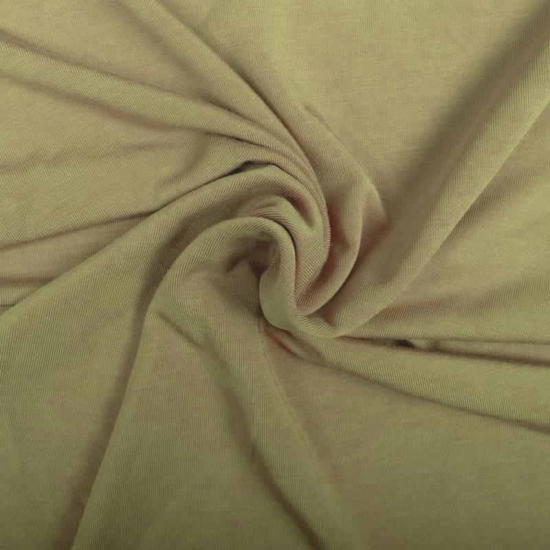 Bamboe tricot Khaki