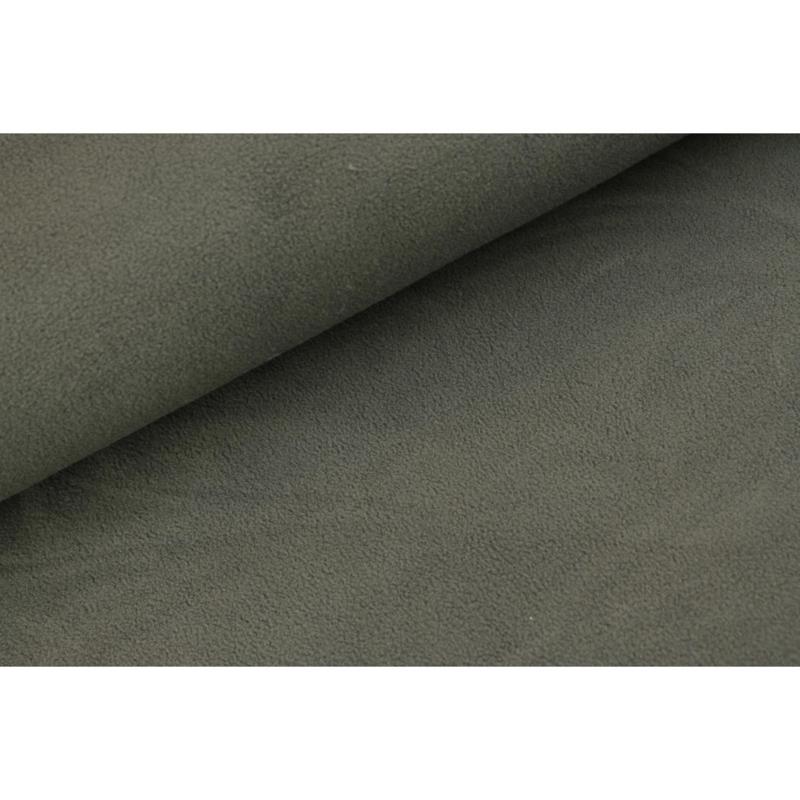 Sherpa cotton fleece Antraciet
