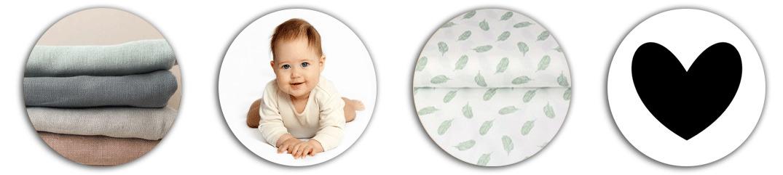 Ontdek leuke, lieve baby en kinderstoffen online op Babystofjes.nl