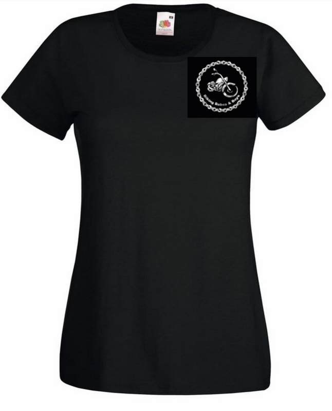 T-shirt met geborduurd logo