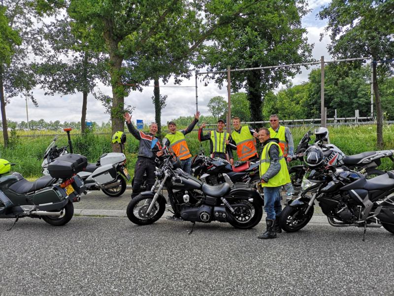 Volle glorie tour Noord Holland juli 2019
