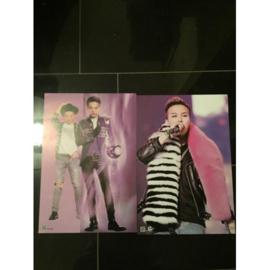 exo g-dragon posters poster kpop Korea F set
