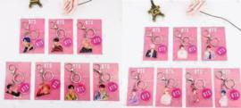 Kpop BTS Bangtan Boys Sleutelhanger Sleutelhangers Keychain