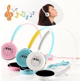 BTS hoofdtelefoon Roze Kpop Korea Koptelefoon