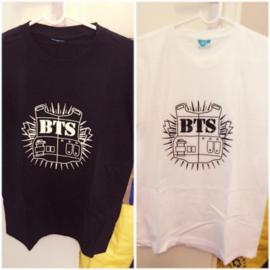 Kpop T-shirt shirt tshirt topje bangtan boys BTS logo
