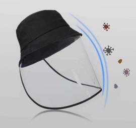 kinderhoed Anti-Spitting Beschermende Hoed Cover Outdoor Visser Hoed Maat Beschermende Cap Anti-Fog Speeksel Beschermende Hoed