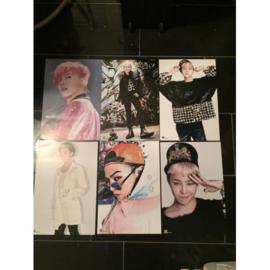 exo g-dragon posters poster kpop Korea G set
