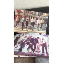 BTS posters poster kpop poster Korea bangtan boys G set