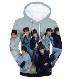 BTS Kpop Hoodie Trui Shirt Kleding
