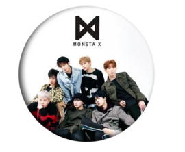 Kpop Monsta X badge button