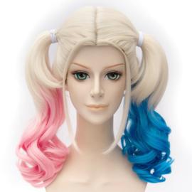 Suicide Squad Harley Quinn Pruik haar pruiken wig cosplay
