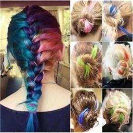 Hippe Gekleurd Haar Extensions A set