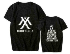 MONSTA X Shirt T-shirt Tshirt Kleding Kpop Korea Clothes
