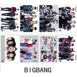 Koreaanse Korean Kpop Band Big Bang Posters Bigbang A set