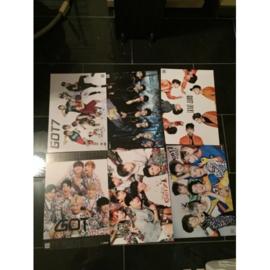 got7 GOT 7 posters poster kpop Korea A set