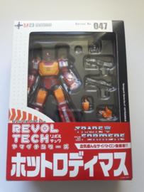 Rodimus Prime NEW SEALED UNOPENED Kaiyodo Revoltech 047 Transformers Hot Rod G1