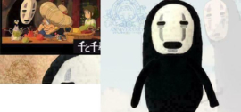 Spirited Away No-Face Pluche Knuffel