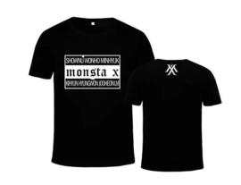 Monsta x kpop t-shirt shirt topje tops kleding Korean muziek