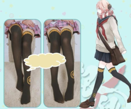 Gintama Cosplay Panty Anime zwart