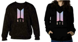 BTS Zwarte hoodie Shirt Trui Kleding Kpop