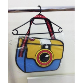 3D Camera Cartoon Schoudertas Tas Damestas Lolita Tas Tassen