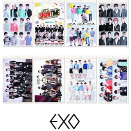 Koreaanse Korean Kpop Band EXO Posters Superstar