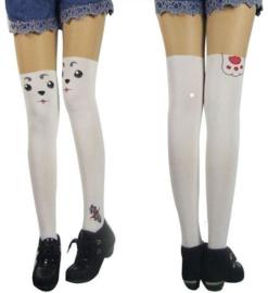 Anime Gintama Sadaharu Print Panty Cosplay wit