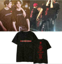 MONSTA X WE ARE HERE T-shirt tshirt shirt Topjes tops Kpop