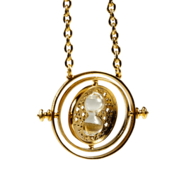 Cosplay Hourglass Time Turner Necklace Zandloper Ketting