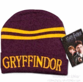 Harry Potter Griffoendor Muts beannie cap pet